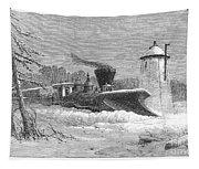 Railway Snow Plough, 1862 Tapestry