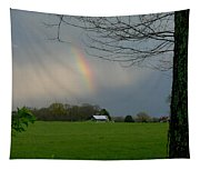 Rainbow After The Rain Tapestry