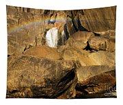 Rainbow At Bridal Veil Tapestry