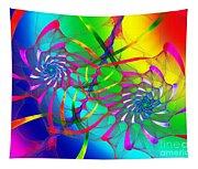 Rainbow Eyes Tapestry