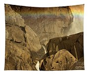 Rainbow Over Lower Bridal Veil Tapestry
