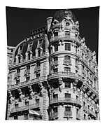 Rainbows And Architecture In Black And White Tapestry