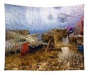 Rainy Day Abstract 3 Tapestry