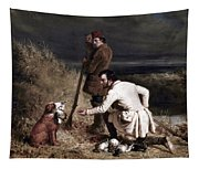 Ranney: Duck Shooting Tapestry
