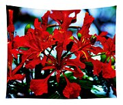 Red Beauty Tapestry