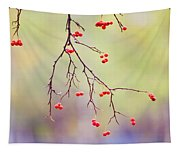 Red Berrries Tapestry