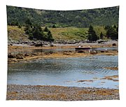 Red Boat Tapestry
