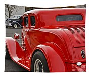 Red Coupe Tapestry