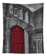 Red Door Tapestry