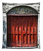Red Door Tapestry