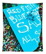 Red Fish Blue Fish Sale Tapestry