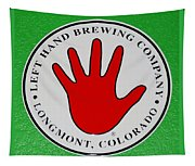 Red Left Hand Tapestry