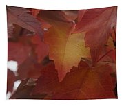 Red Maple With A Splash Of Gold Tapestry