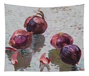 Red Onions Tapestry
