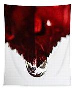 Red Rain Tapestry