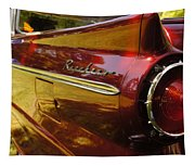 Red Ranchero And Round Taillight Tapestry