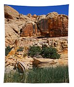 Red Rock Canyon The Tank Tapestry