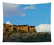 Red Rock In New Mexico Tapestry