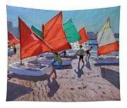 Red Sails Tapestry