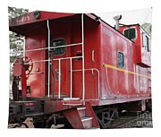 Red Sante Fe Caboose Train . 7d10330 Tapestry