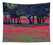 Red Shock Tapestry