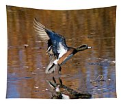 Reflecting Duck Tapestry