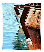 Reflections Of A Rust Bucket Tapestry