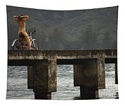 Relaxed Ride Hanalei Bay Tapestry