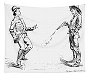Remington: Cowboy, 1888 Tapestry