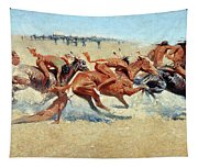 Remington: Indian Warfare Tapestry