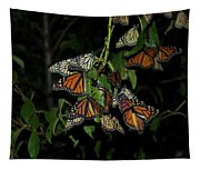 Resting Monarchs Tapestry