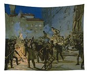 Revolution In Florence Tapestry
