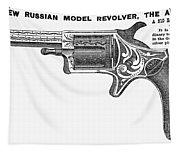 Revolver Ad, 1878 Tapestry