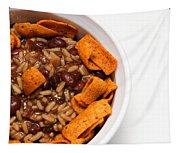 Rice And Beans With Chile Cheese Fritos Tapestry
