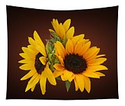 Ring Of Sunflowers Tapestry
