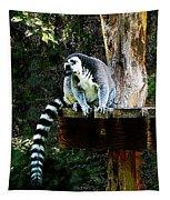 Ring-tailed Lemur Tapestry