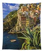 Rio Maggiore Cinque Terre Italy Tapestry