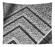 Ripple Effect Bw Palm Springs Tapestry