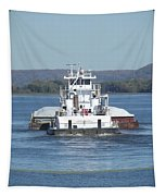 River Barge II Tapestry