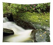 River Flowing Through A Forest, Torc Tapestry