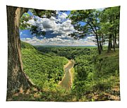 River In The Valley Tapestry