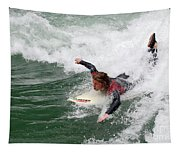 River Surfing Tapestry