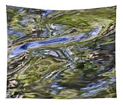 River Swirls - Abstract Tapestry