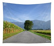 Road And Trees Tapestry