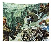 Roald Amundsen's Journey To The South Pole Tapestry