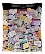 Rock And Roll Memories Tapestry
