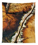 Rock Detail, Killarney Provincial Park Tapestry