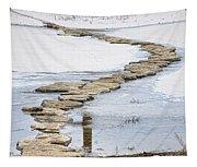 Rock Lake Crossing Tapestry
