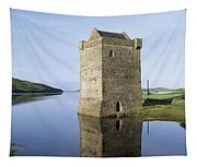 Rockfleet Castle On Clew Bay, County Tapestry