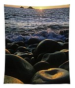 Rocks At The Coast, Giants Causeway Tapestry